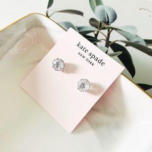 🌺🌺Kate Spade That Sparkle Earrings Silver